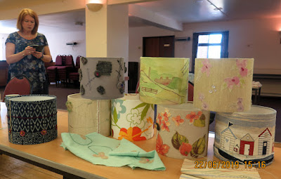 A lampshade workshop with Jennifer Collier