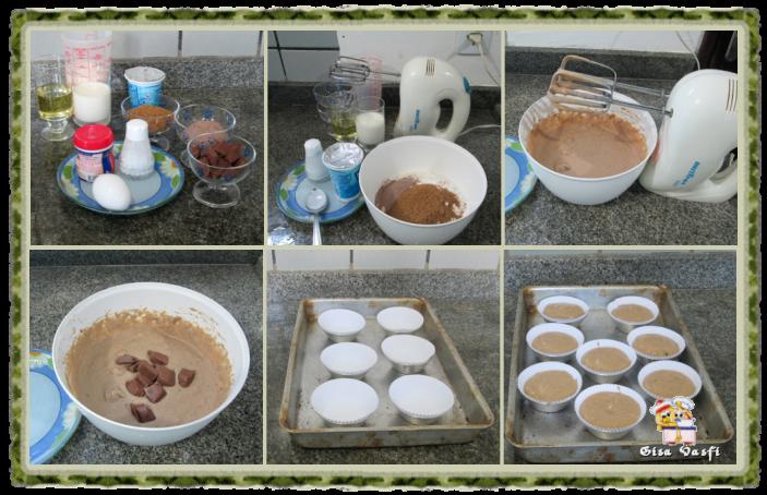 Muffim com pedacinhos de chocolate 2
