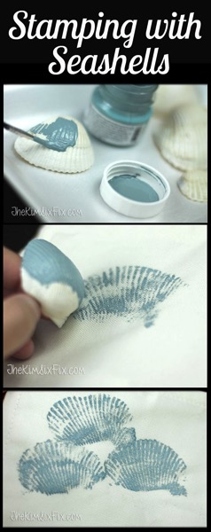 Stamping With Sea Shells Tutorial