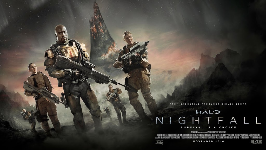 Halo Nightfall movie poster