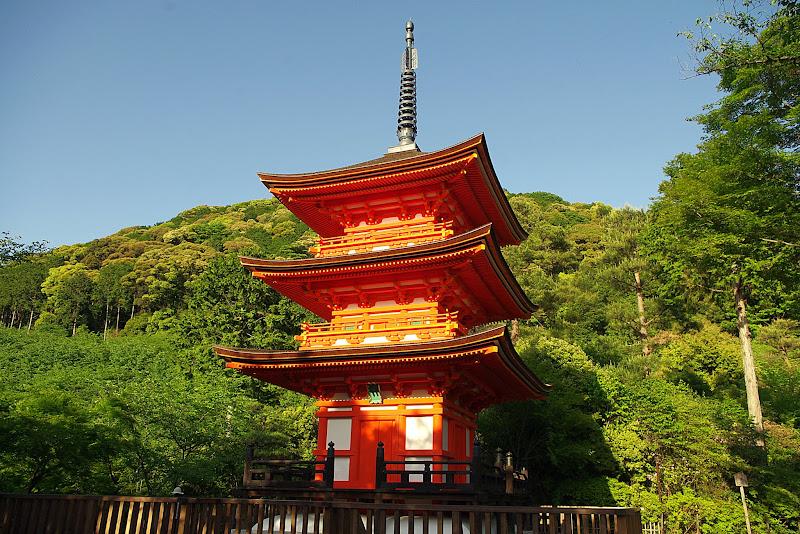 Qué ver en Kioto. Templo Kiyomizu-dera
