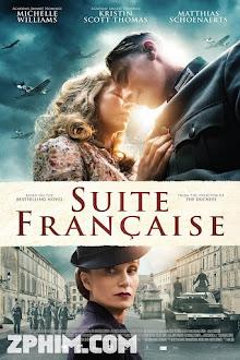 Tình Yêu Thời Chiến - Suite Française (2014) Poster