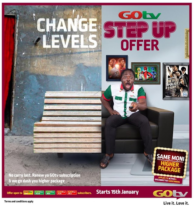 GOtv Step Up is Back And Better!