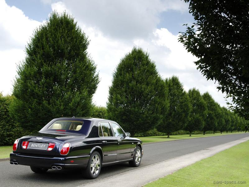 2008 Bentley Arnage Sedan Specifications Pictures Prices