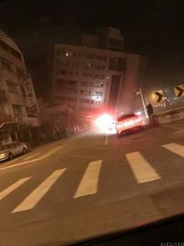 Earthquake hits Taiwan, destroying buildings