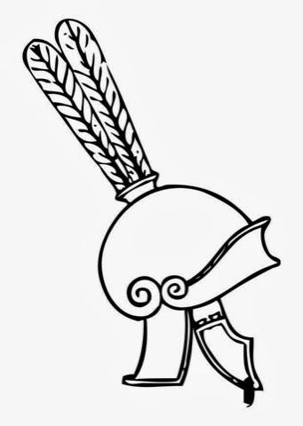 Historia De Las Civilizaciones Cascos Griegos Para Colorear