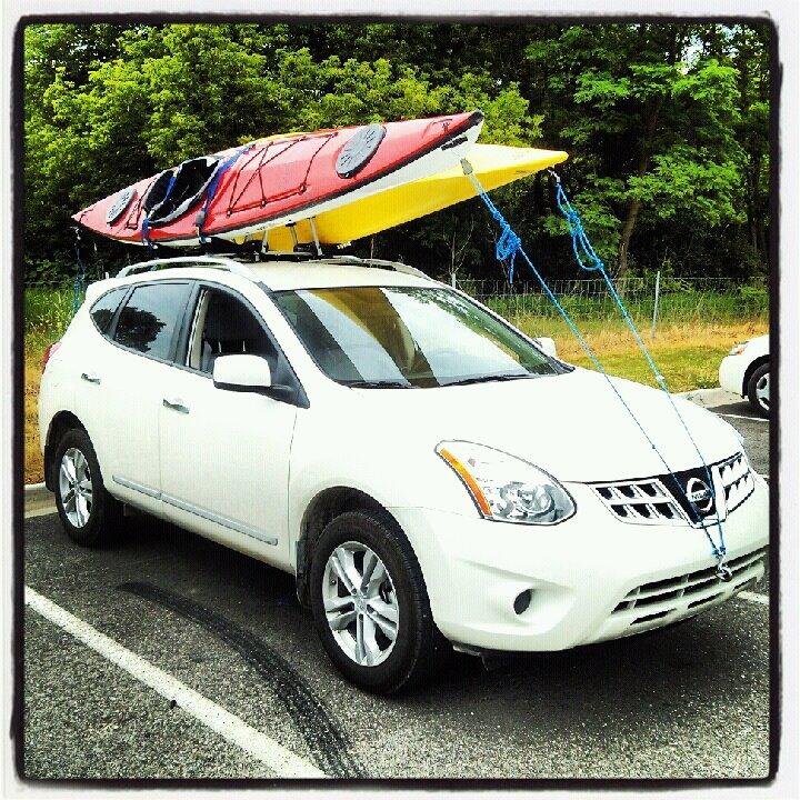 kayak rack options nissan forum