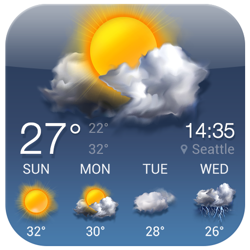 Free Local Weather Forecast Widget