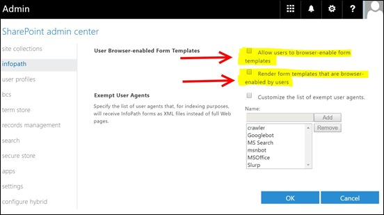 infopath-office 365-this form cannot be opened in a web browser-use infopath- (4)