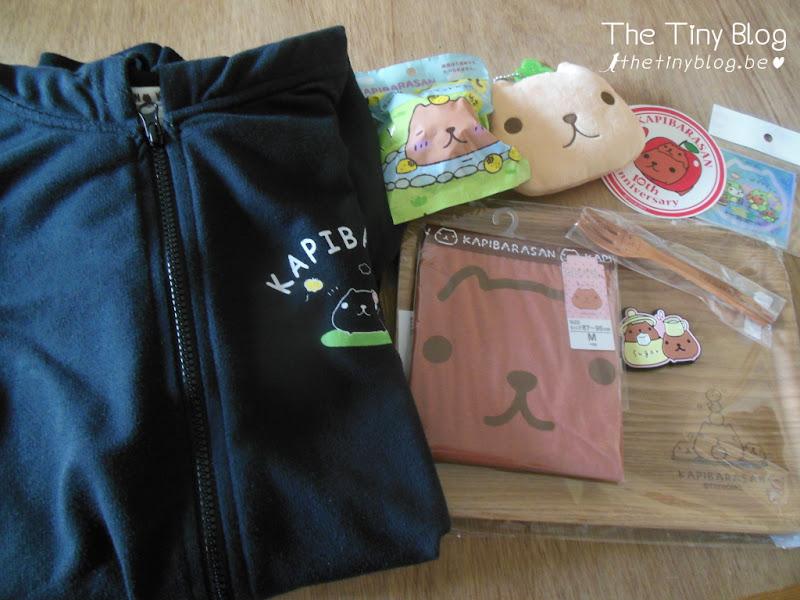 Japan October 2015 Shopping 10th Kapibara-san