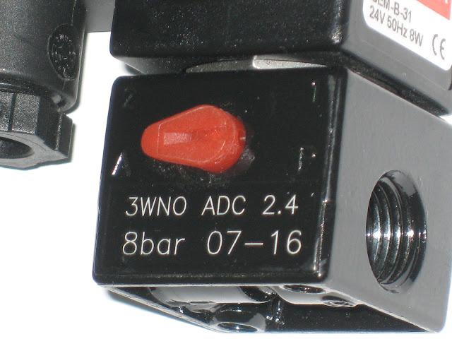 NEW NEW++ NEW BACCARA GEM-SOL GEM-B-31 SOLENOID 24V 50HZ 8W