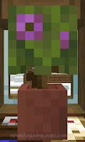 Azaleia florescente em vaso