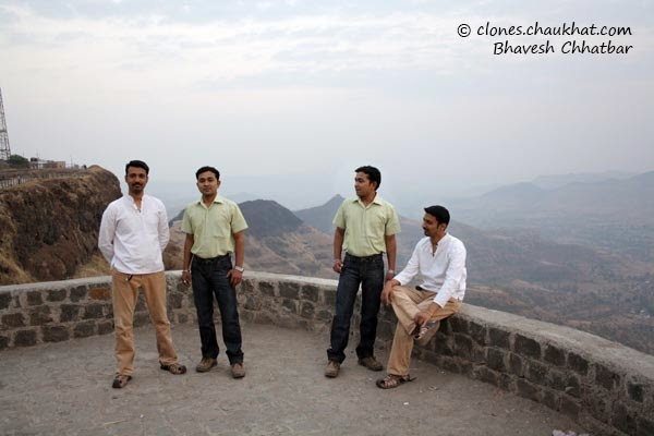 Clone photo of Ravi, Amol, Amol and Ravi