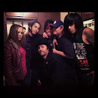 Toshi, Meegs, Billy, Syn, Sean, and I at a Fri the 13th party in Burbank.