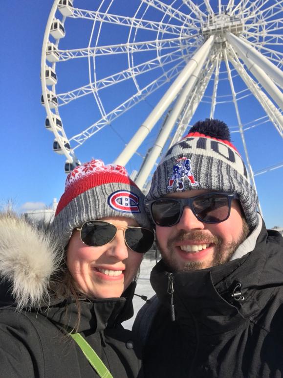 Montreal Ferris Wheel Selfie