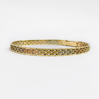 14K Four Color Gold Bracelet