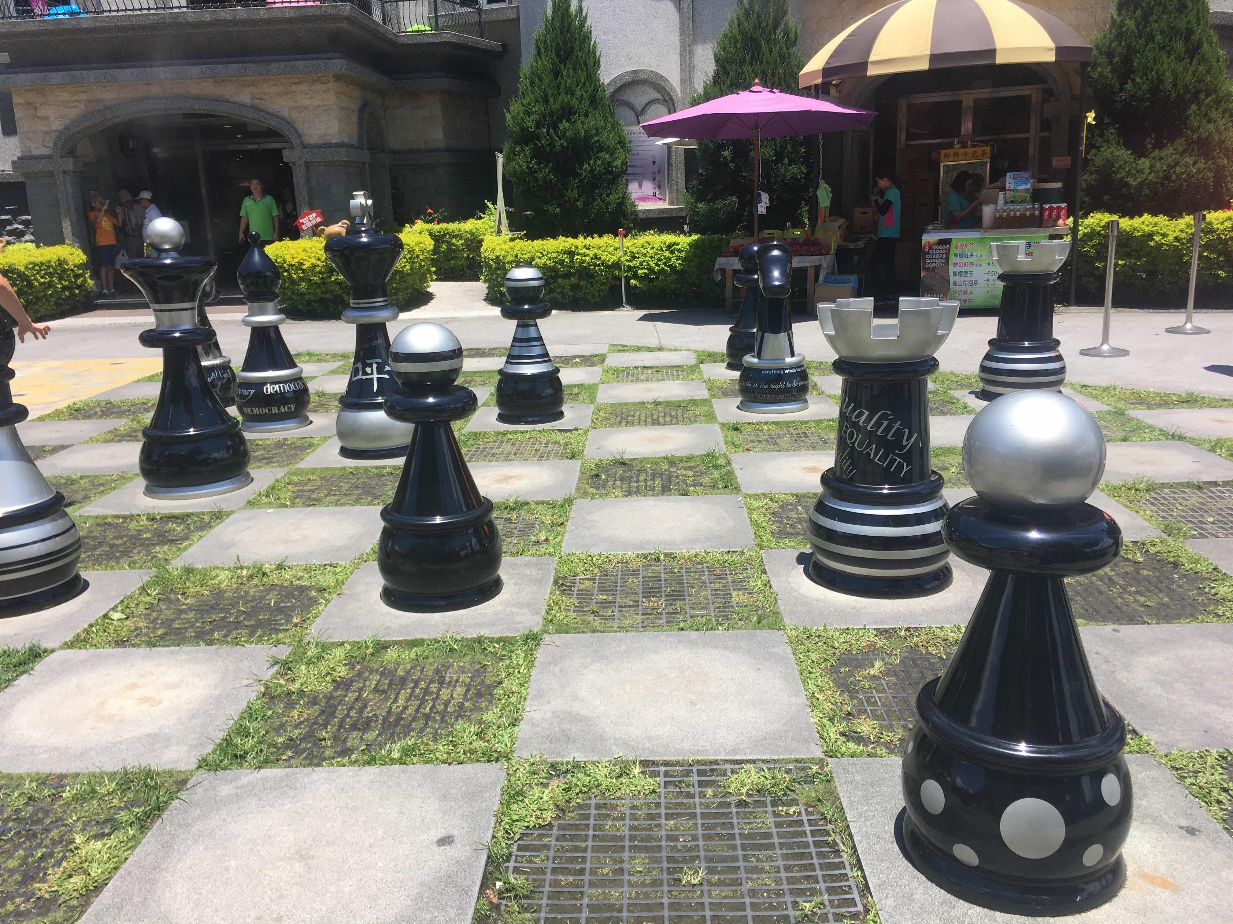 king's garden castle themed bakery puli nantou Taiwan