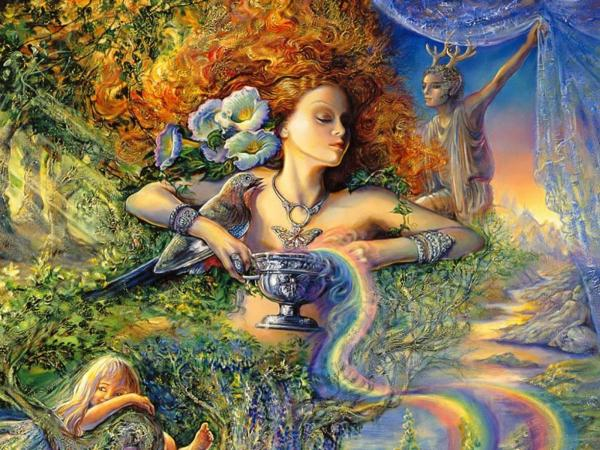 Goddess And Cup Of Life, Fairies 2