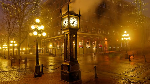 Steam Clock, Gastown, Vancouver, British Columbia.jpg