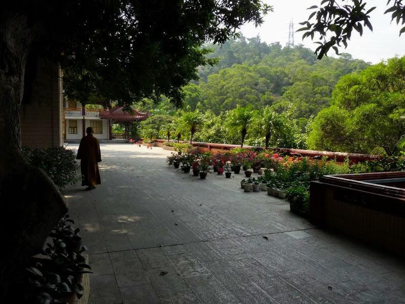 Xiamen, dans un temple, espace réservé aux nones