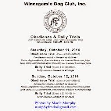 Obedience & Rally Trials Oct. 11-12, 2014