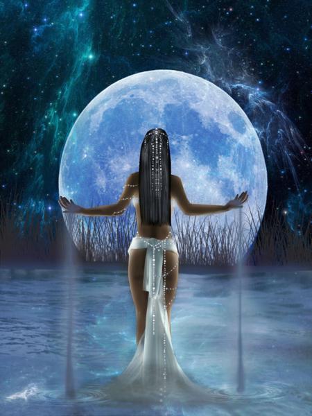 Anqet Goddess Of The Nile, Egyptian Magic