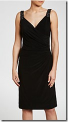 Lauren Ralph Lauren embellished shoulder dress
