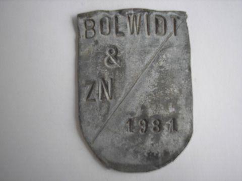 Naam: BolwidtPlaats: UtrechtJaartal: 1981