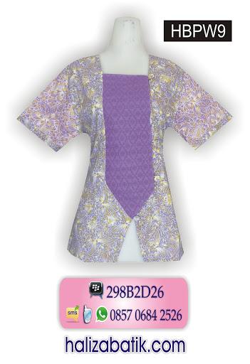HBPW9 Baju Baju Batik, Model Baju Terkini, Batik Modern, HBPW9