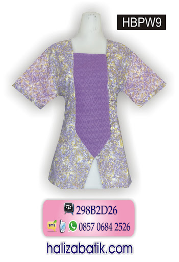 baju baju batik, model baju terkini, batik modern