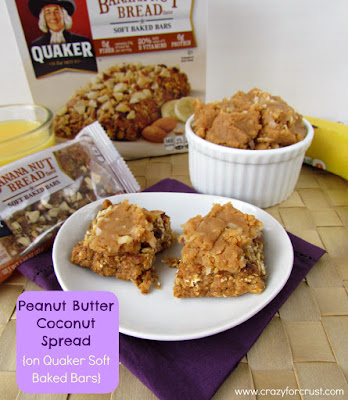 Recipe: Peanut butter coconut spread