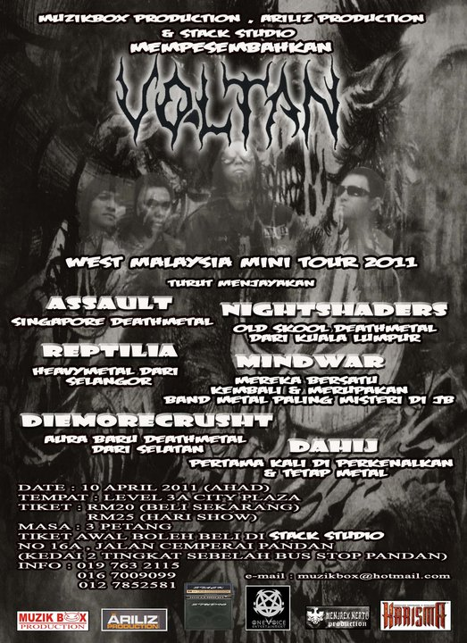 Event West Malaysia Mini Tour 2011