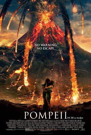 Φωτιά Πάνω Από Την Πομπηία Pompeii Poster