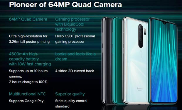 Xiaomi Redmi Note 8 Pro Spesifikasi