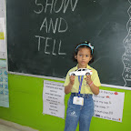 Show and Tell Activity (Sr. KG) 29.08.2016