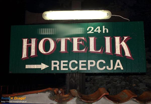 Hotelik 24h recepcja