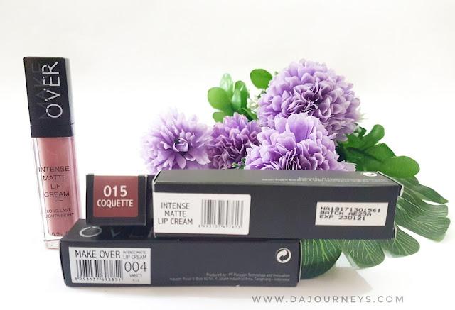 [Review] Make Over Intense Matte Lip Cream