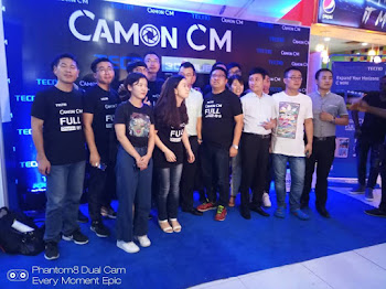 tecno camon cm launch event