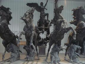 Animal, Exterior, Horses, Ideas, Natural Stone, Statues