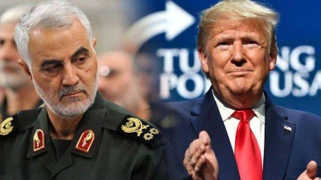 Trump: AS Bunuh Soleimani Karena Iran Berencana Ledakkan Kedubes AS