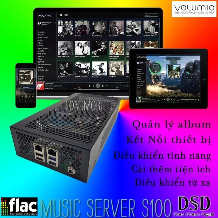 music server s100 new