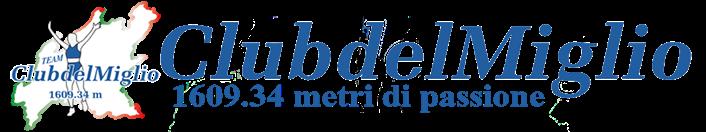 Club del miglio logo vect