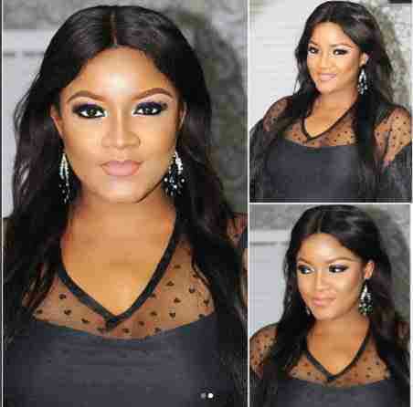 Omotola Jalade-Ekeinde expose chest in this pics