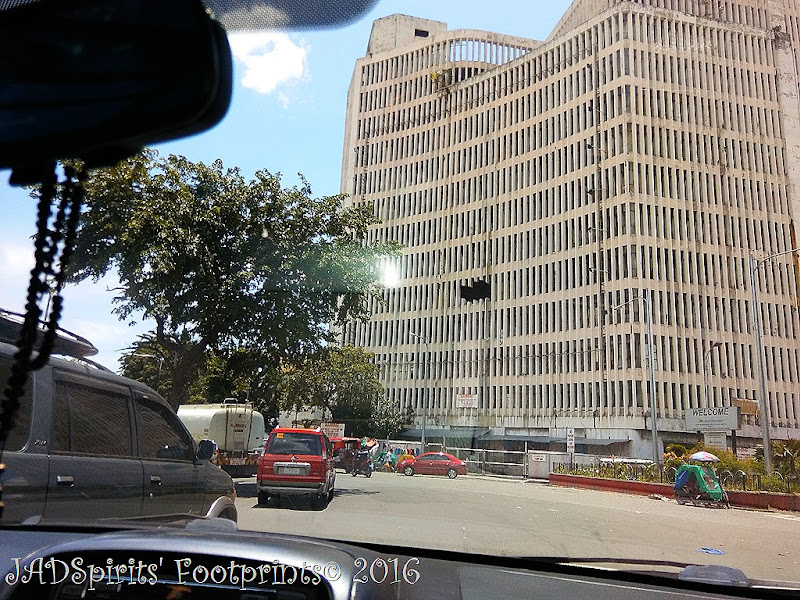 This old Philbanking building towers over Anda Circle in Port Area Manila