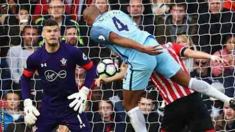 Southampton vs Manchester City Match Highlight