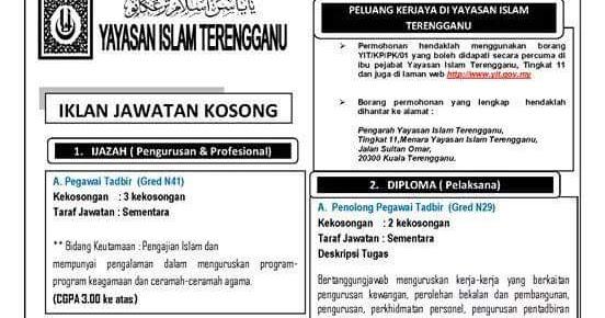 Kerja Kosong Baitul Mal Selangor Umpama W