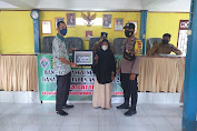 Bhabinkamtibmas Polsek Marioriwawo Kawal Penyaluran BLT di Desa Gattareng