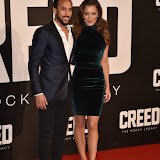 OIC - ENTSIMAGES.COM - Andros Townsend at the  Creed - UK film premiere at the Empire Leicester Sq London 12th January 2016 Photo Mobis Photos/OIC 0203 174 1069