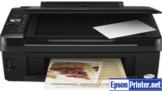 How to Reset Epson TX220 lazer printer – Reset flashing lights problem