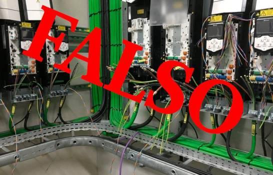 """Imagen de """"cables eléctricos"""" en el AILA es falsa"""